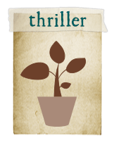 Thriller - A bold, upright focal point that provides strong, distinctive  architectural structure. Add this first so you  don't have to squeeze  it in later.