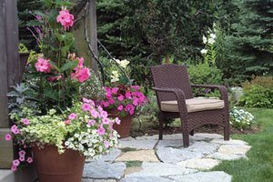 add-flower-containers-to-patio