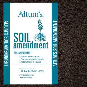 Altum 39 s horticultural center landscape zionsville indiana for Soil amendments