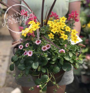 Artfully Arranged Planter