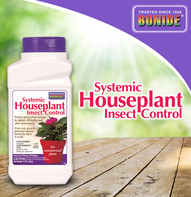 Systemic Insecticide Granules for Houseplants